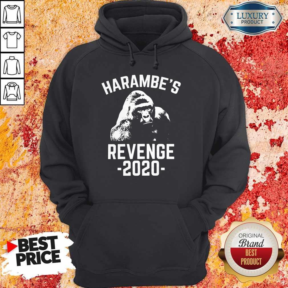 Funny Harambes Revenge 2020 Hoodie