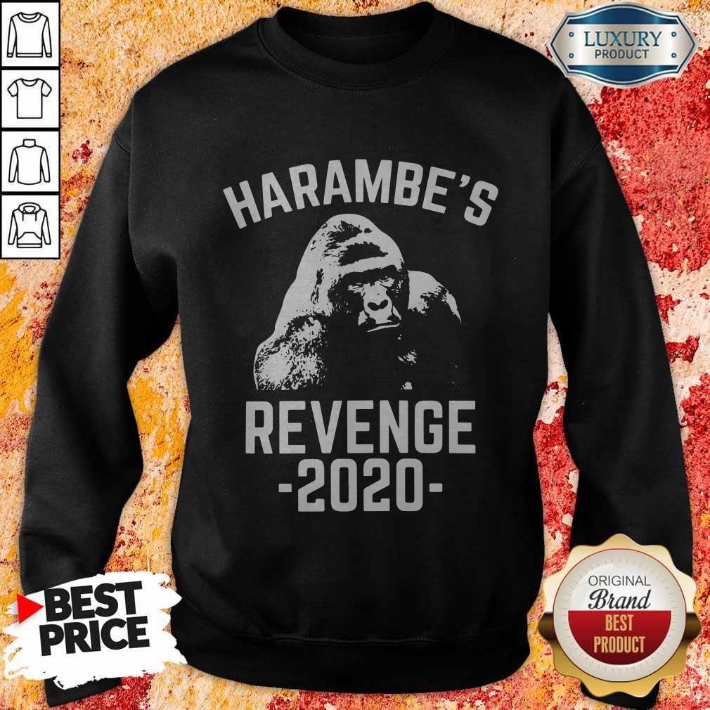 Funny Harambes Revenge 2020 Sweatshirt