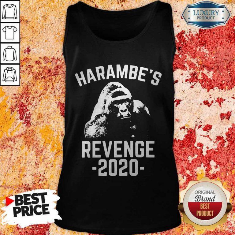 Funny Harambes Revenge 2020 Tank Top