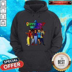 Funny LGBT A Different World Hoodie