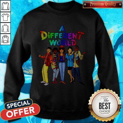 Funny LGBT A Different World Sweatshirt