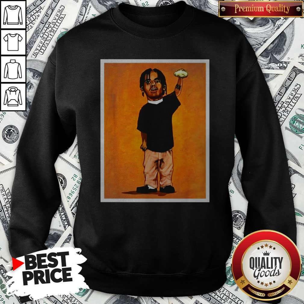 Funny O Dog Cheeseburger Sweatshirt