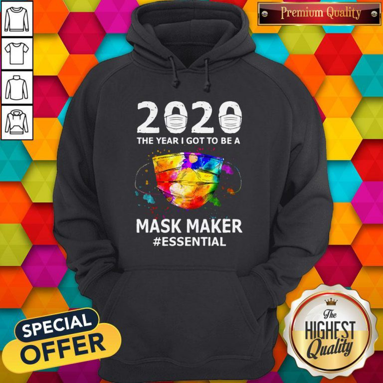 Funny Paint 2020 Mask Maker #Essential Hoodie