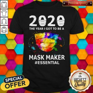 Funny Paint 2020 Mask Maker #Essential Shirt