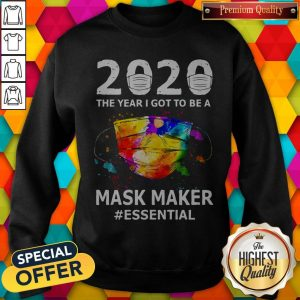 Funny Paint 2020 Mask Maker #Essential Sweatshirt