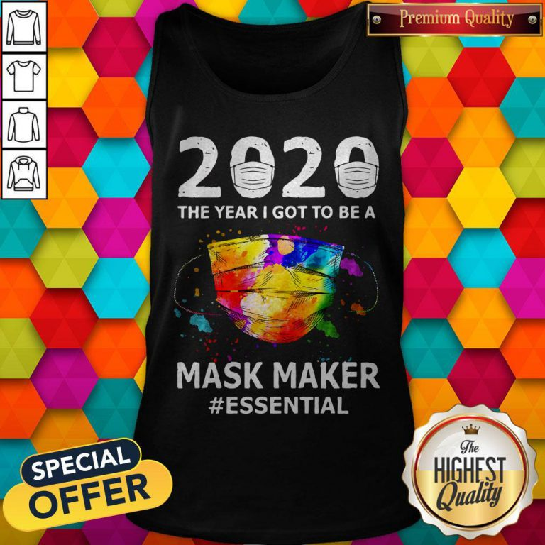 Funny Paint 2020 Mask Maker #Essential Tank Top