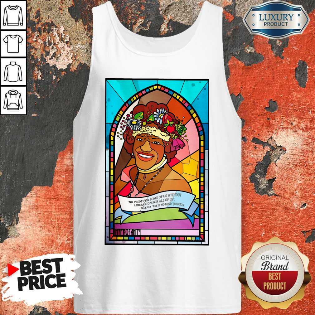 Funny Pride Month  Marsha P. Johnson Tank Top