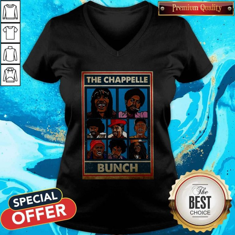 Funny The Chappelle Bunch V-neck