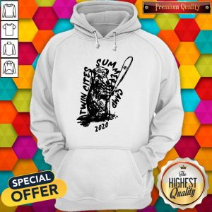 Funny Twin Cities Summer Camp 2020 Minnesota Twins Hoodie