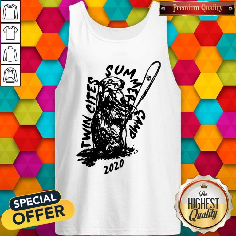 Funny Twin Cities Summer Camp 2020 Minnesota Twins Tank Top