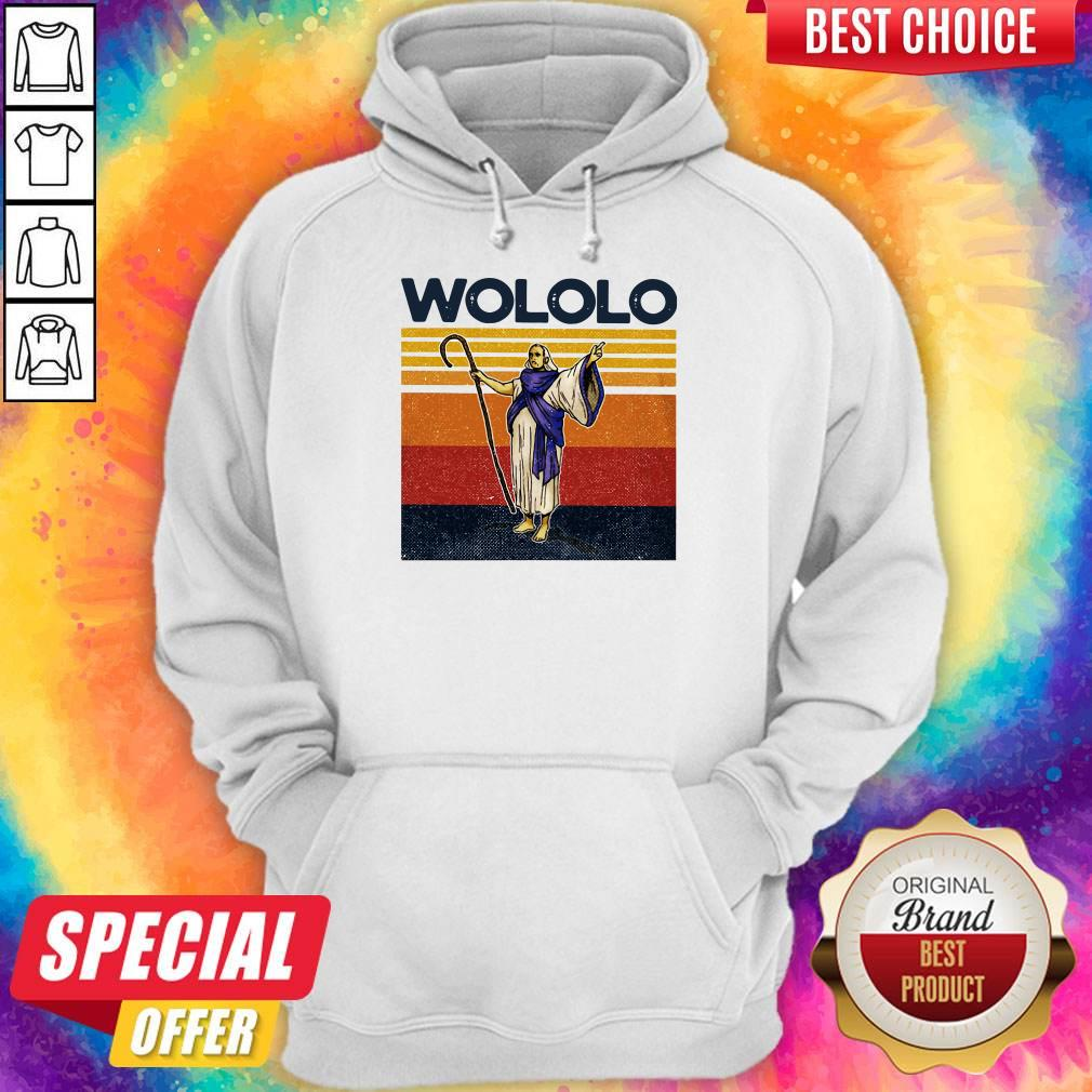 Funny Wololo Vintage Hoodie