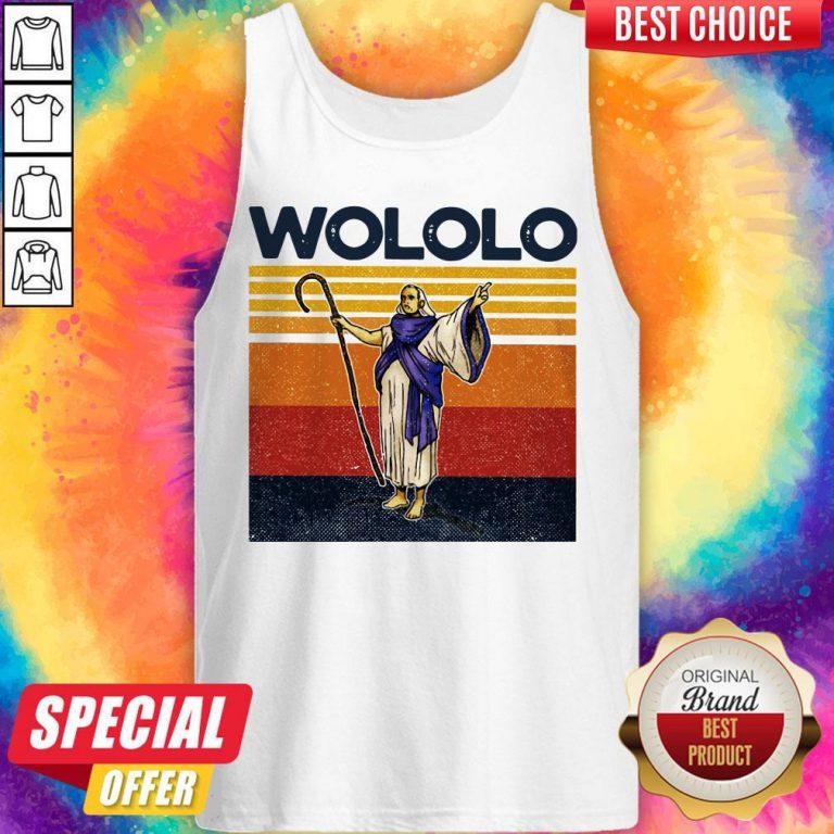 Funny Wololo Vintage Tank Top