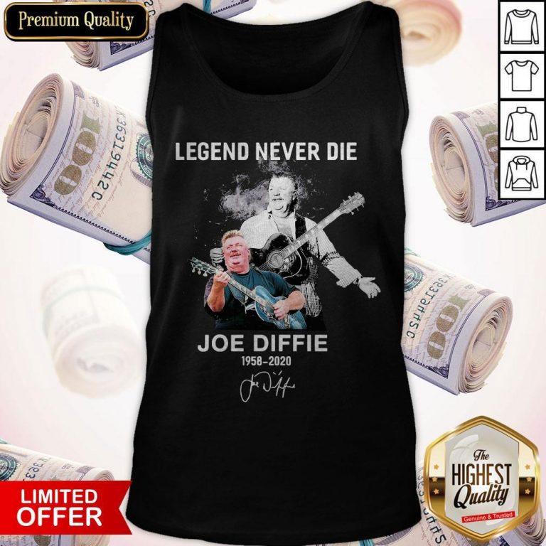 Legend Never Die Joe Diffie 1958 2020 Signature Tank Top