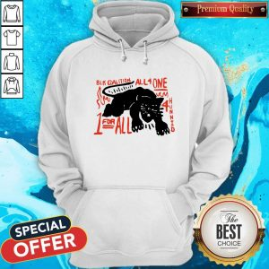 Nice Panther Black Coalition All For One Hoodie