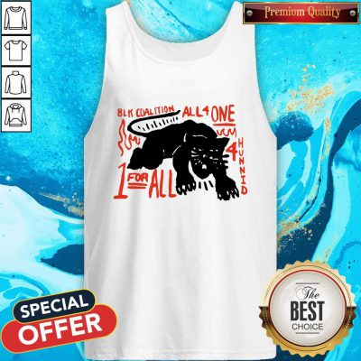 Nice Panther Black Coalition All For One Tank Top