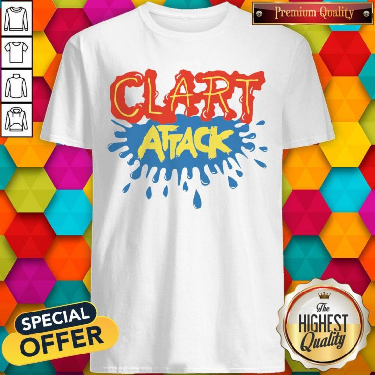 Official Clart Attack Shirt