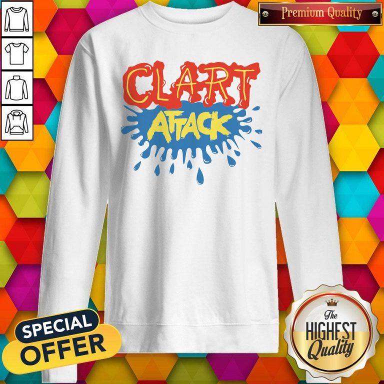 Official Clart Attack Sweatshirt
