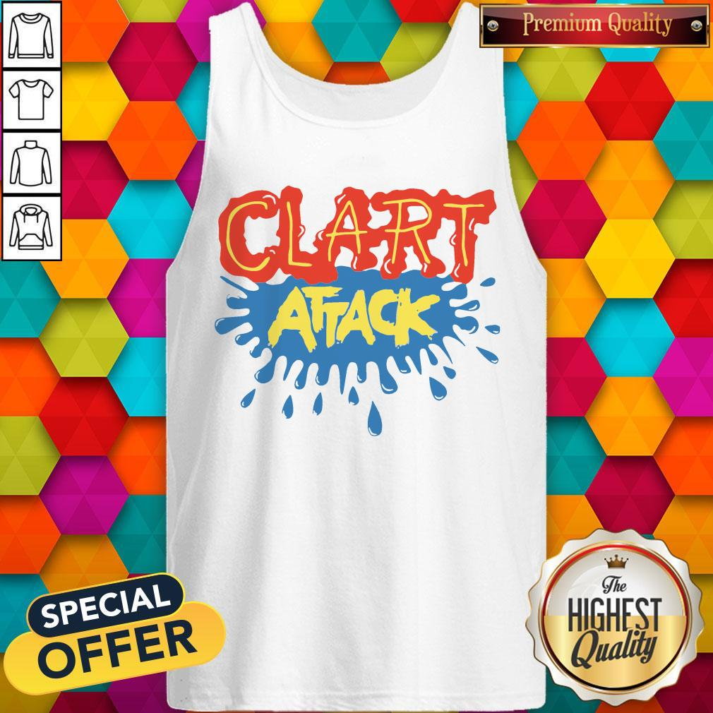Official Clart Attack Tank Top
