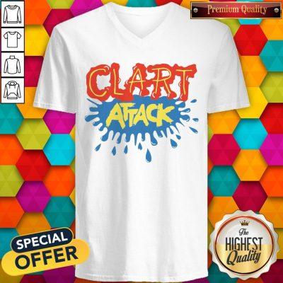 Official Clart Attack V-neck