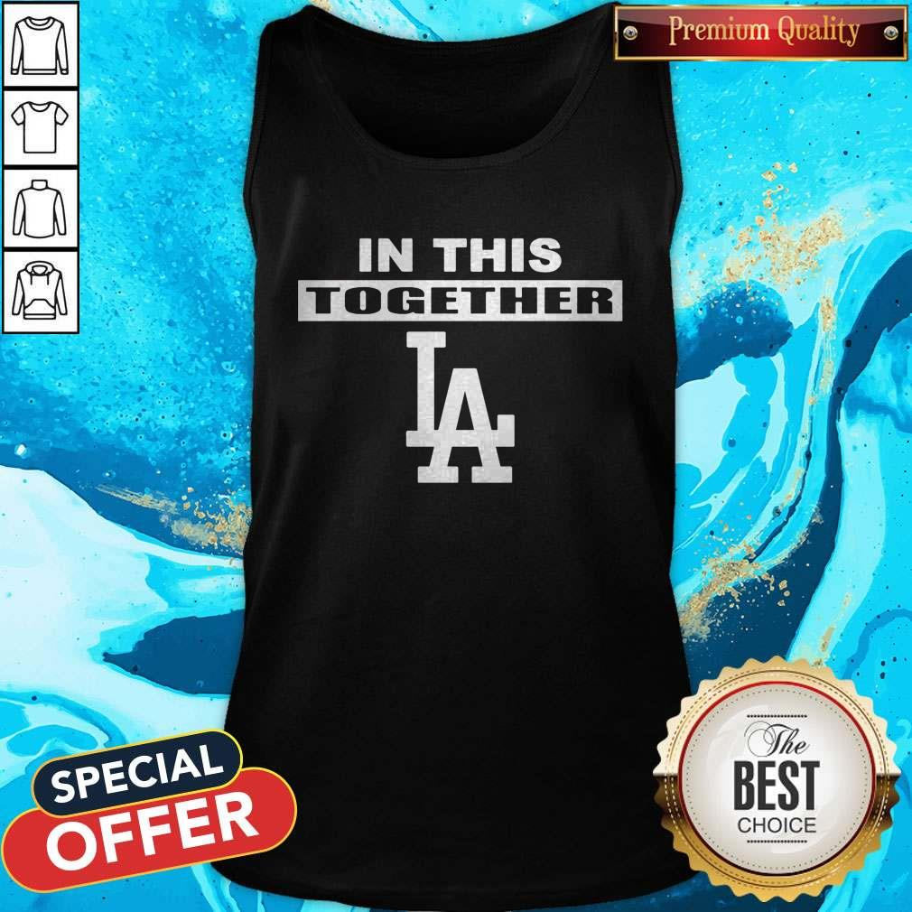 Official Dodgers In This Together Tank Top