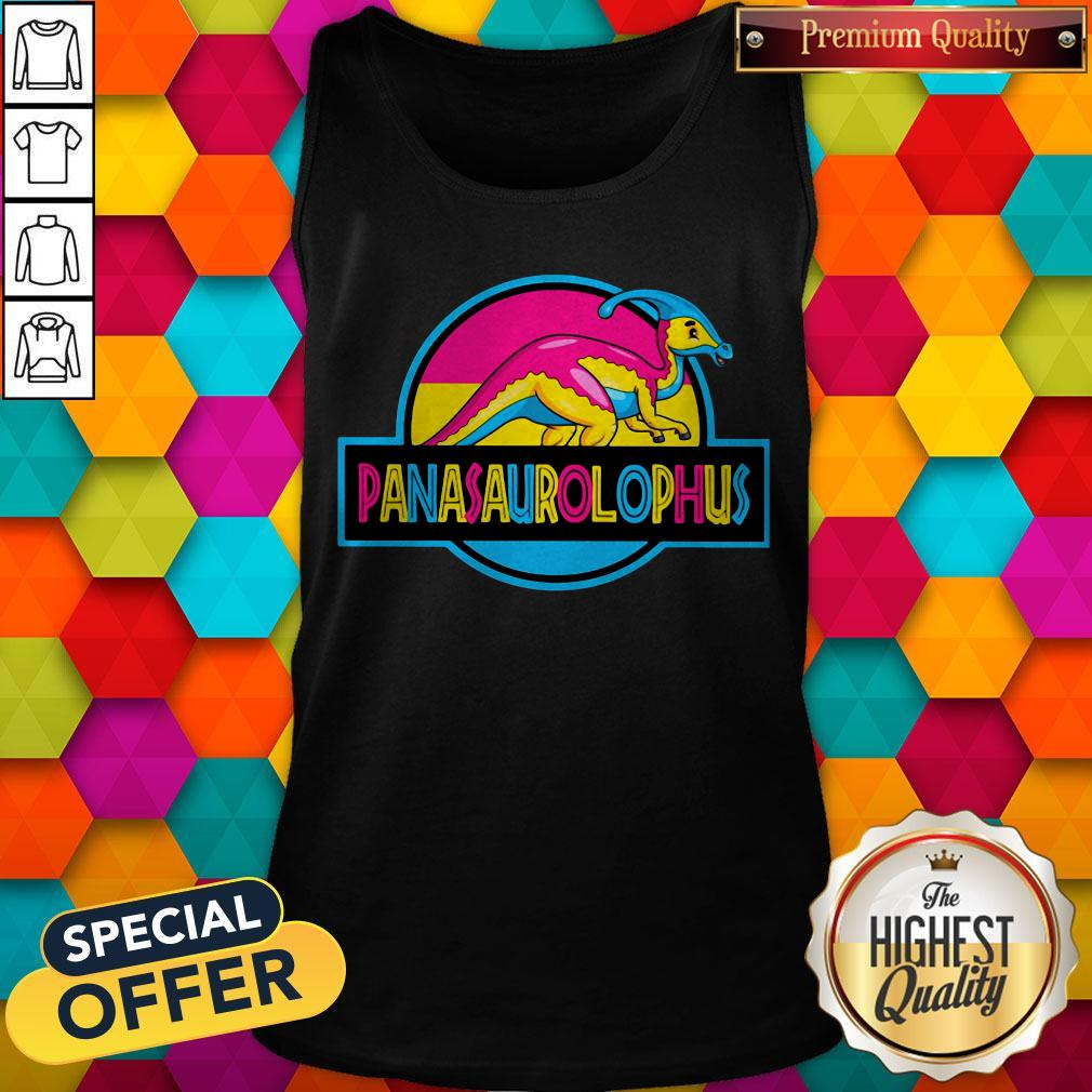Official LGBT Panasaurolophus Tank Top