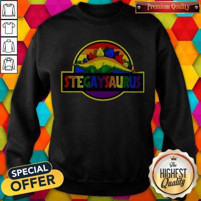 Official LGBT Stegaysaurus Sweatshirt