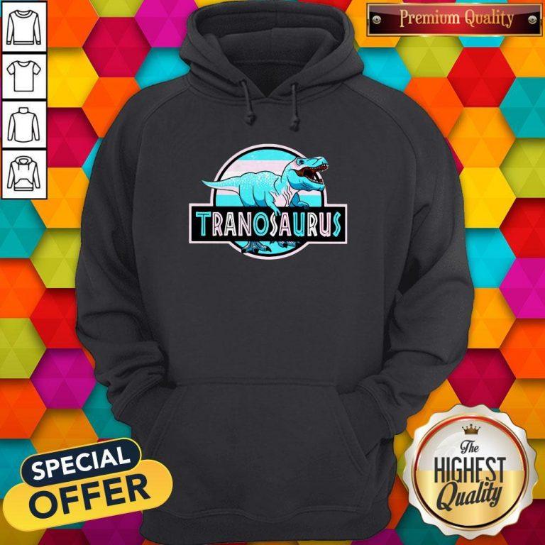 Official LGBT Tranosaurus Hoodie
