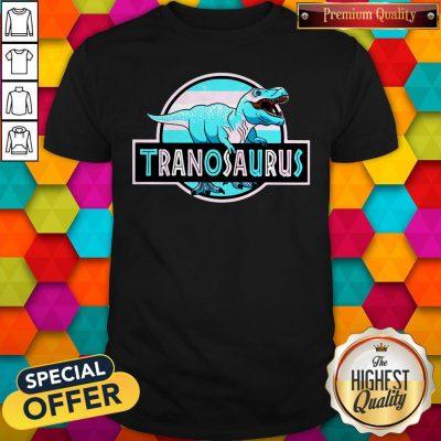 Official LGBT Tranosaurus Shirt