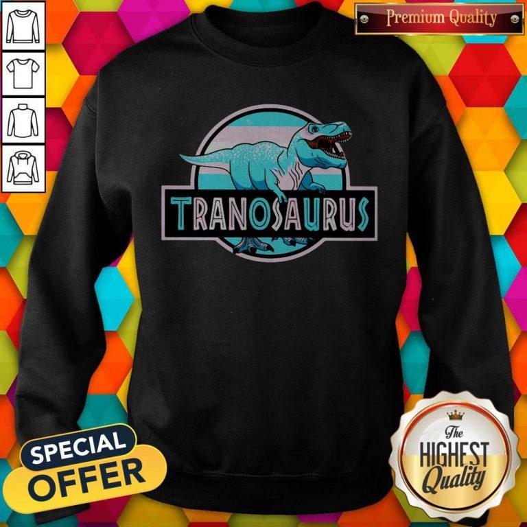 Official LGBT Tranosaurus Sweatshirt
