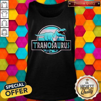 Official LGBT Tranosaurus Tank Top