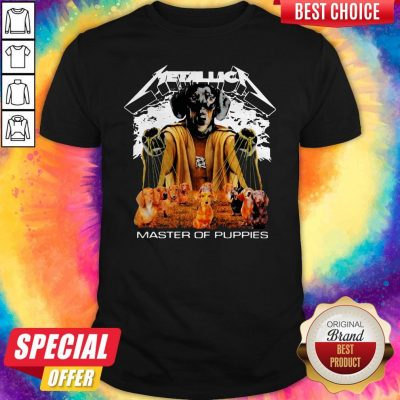 Official Metallica Master Of Puppies Shirt