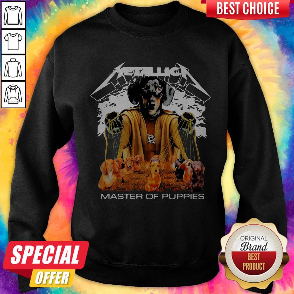 Official Metallica Master Of Puppies Sweatshirt