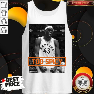 Official Pascal Siakam TOO SPICY Tank Top