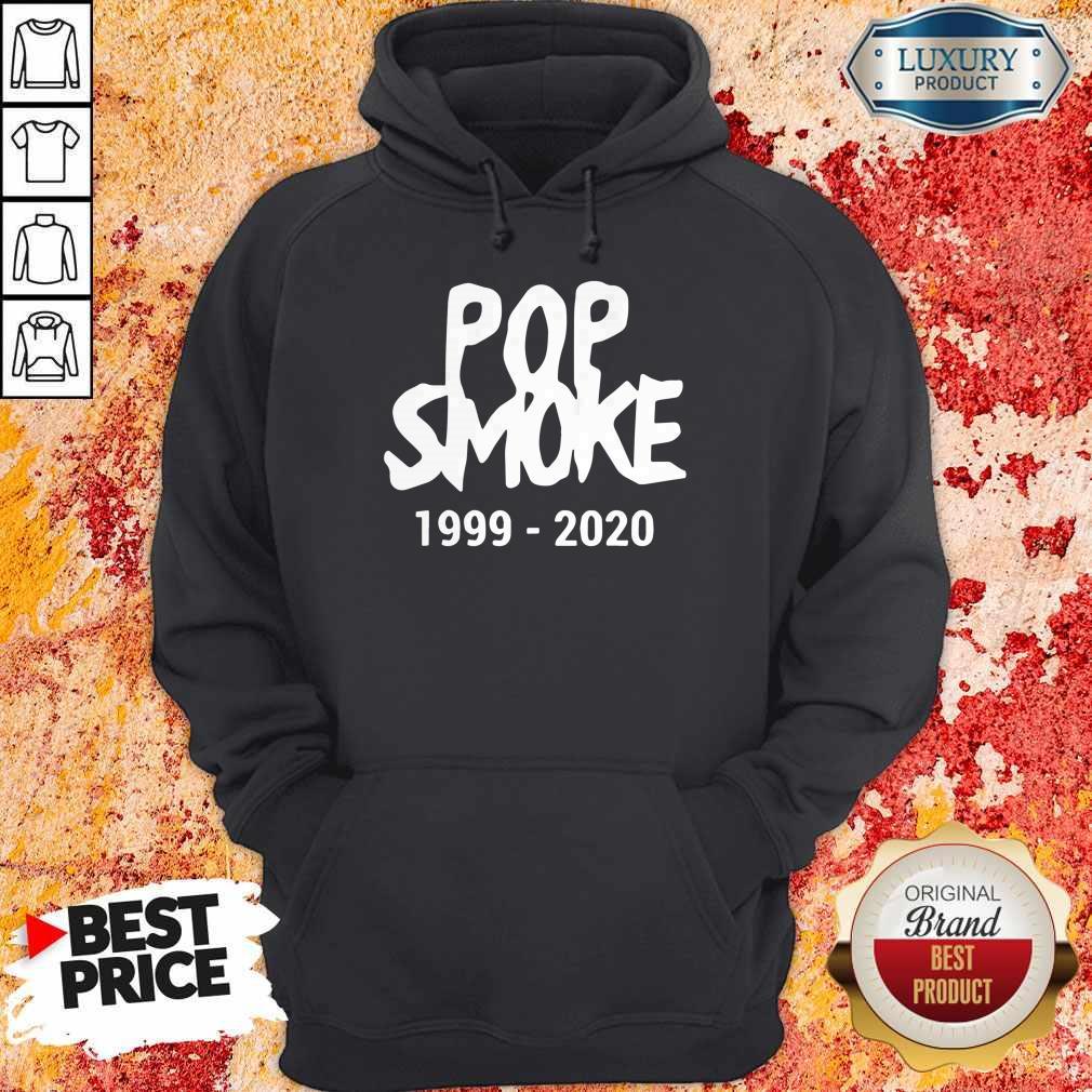 Official Pop Smoke 1999 2020 Hoodie