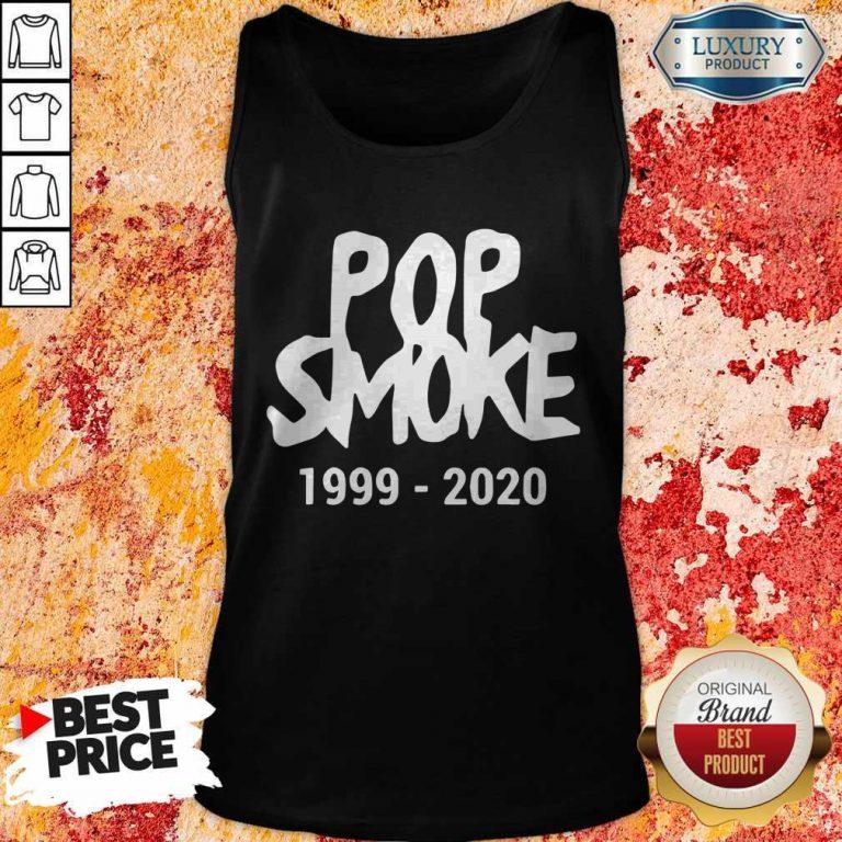 Official Pop Smoke 1999 2020 Tank Top