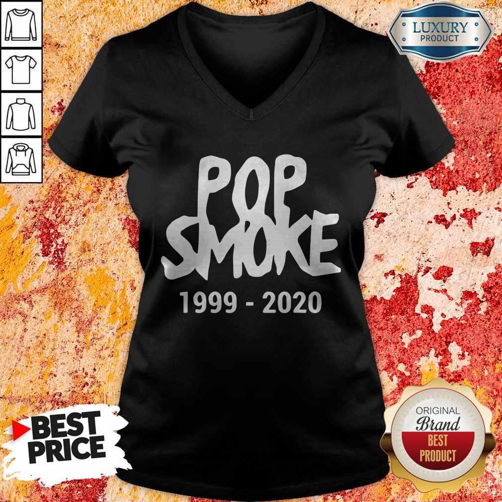 Official Pop Smoke 1999 2020 V-neck