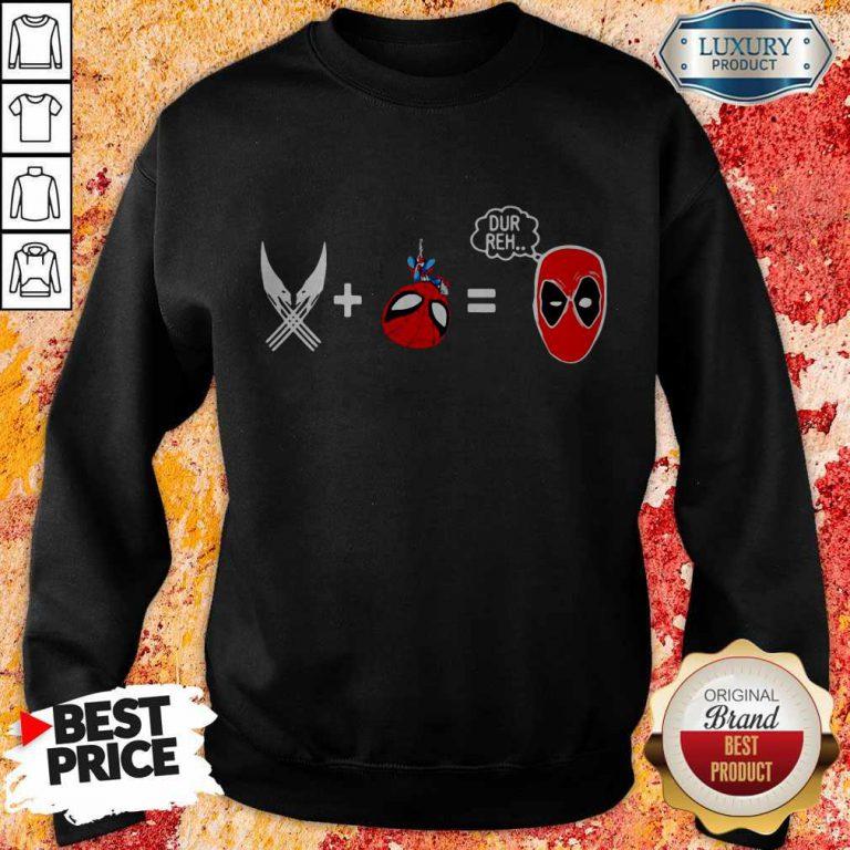 Official Sword And Spiderman Dur Reh Sweatshirt