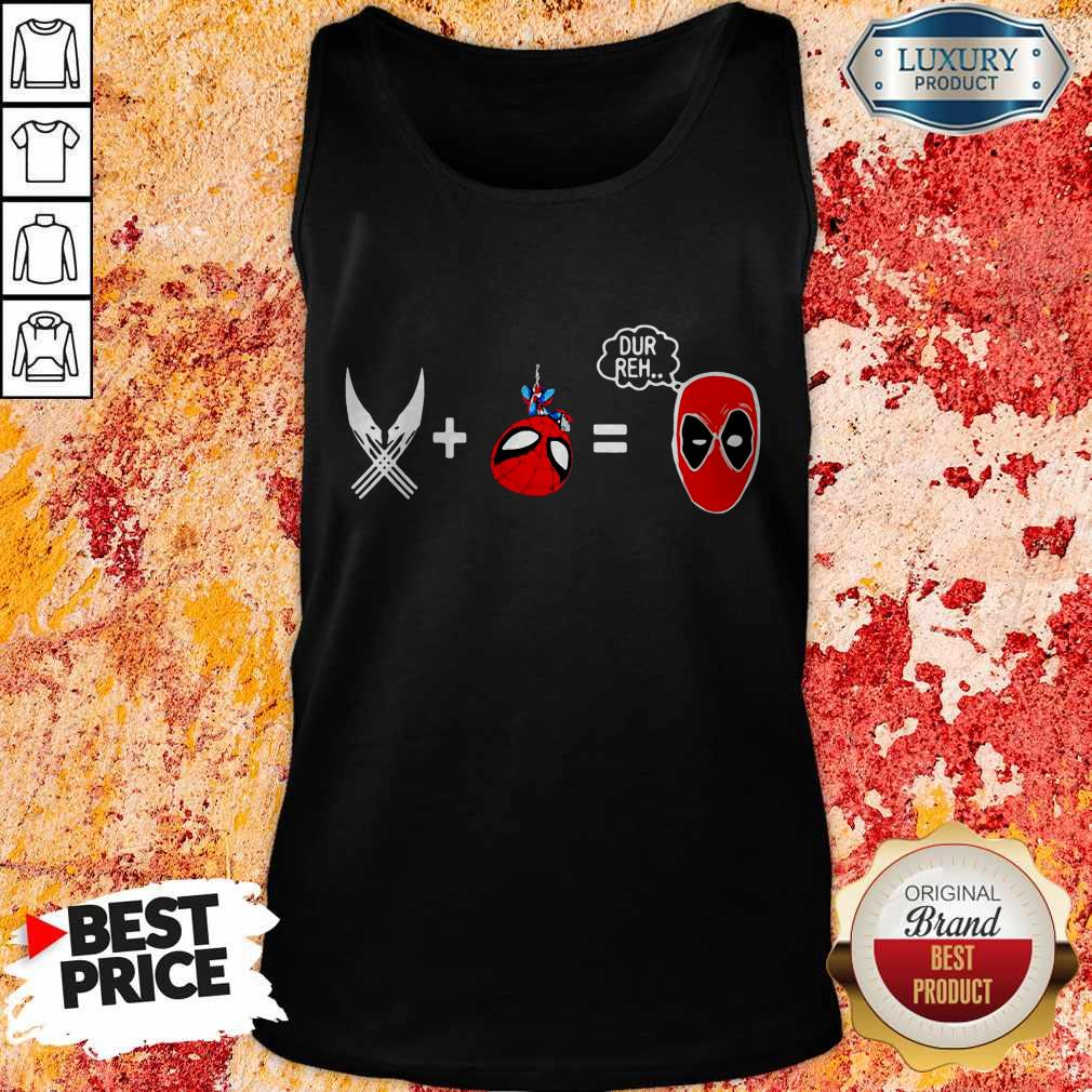 Official Sword And Spiderman Dur Reh Tank Top