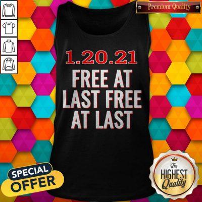 Premium 1.20.21 Free At Last Free At Last Tank Top