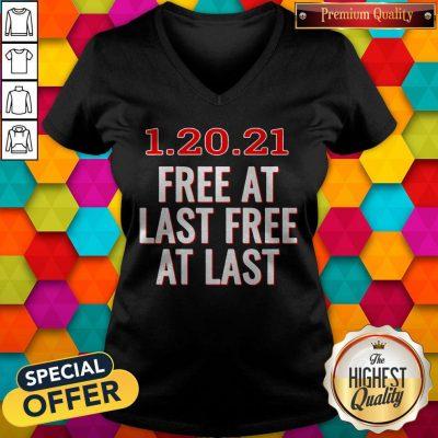 Premium 1.20.21 Free At Last Free At Last V-neck