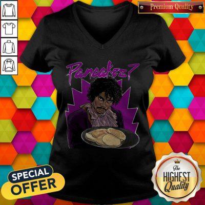 Premium Fresh Prince Pancakes V-neck