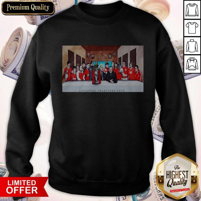 Premium Liverpool Champion 2020 Sweatshirt