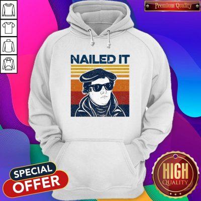 Premium Nailed It Vintage Hoodie
