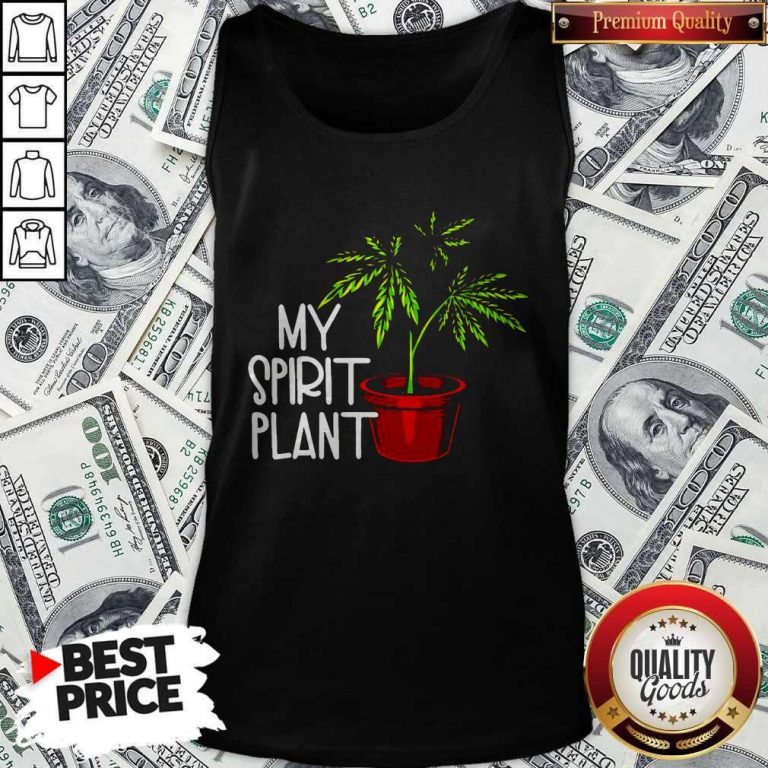 Premium Weed My Spirit Plant Tank Top