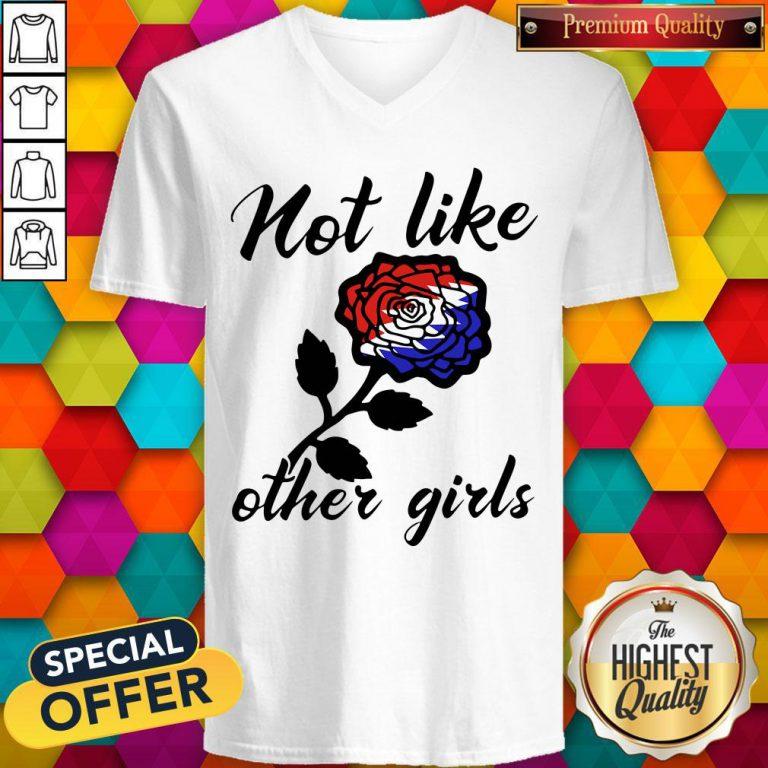 Pretty Not Like Other Girls V-neck