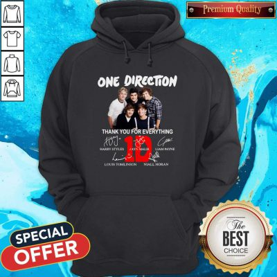 Pretty One Direction Thank You For Every Thing Hoodie