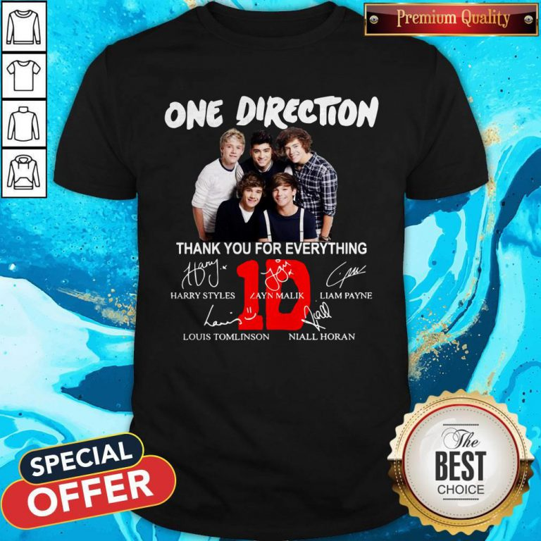 Pretty One Direction Thank You For Every Thing Shirt