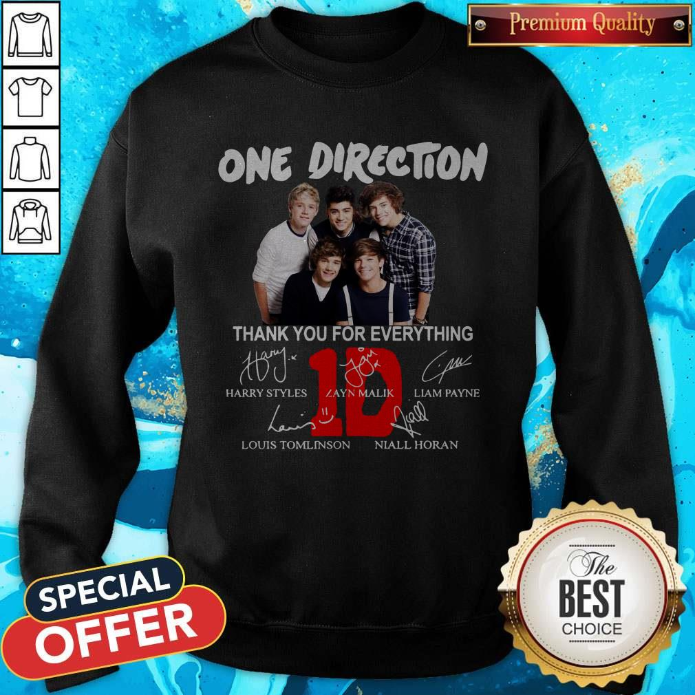 Pretty One Direction Thank You For Every Thing Sweatshirt