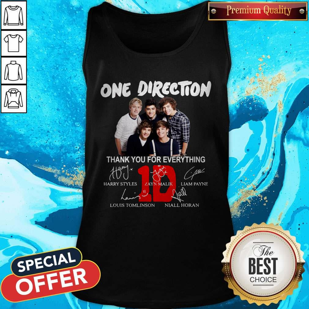 Pretty One Direction Thank You For Every Thing Tank Top