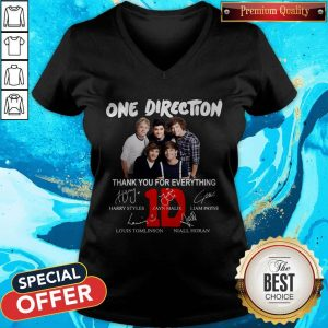 Pretty One Direction Thank You For Every Thing V-neck